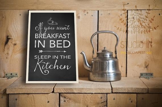 kreideküste druckbare, lustige Küche Schilder, Tafel Küche Décor, Frühstück  Zitate, Frühstück druckbare, Tafel drucken, INSTANT DOWNLOAD