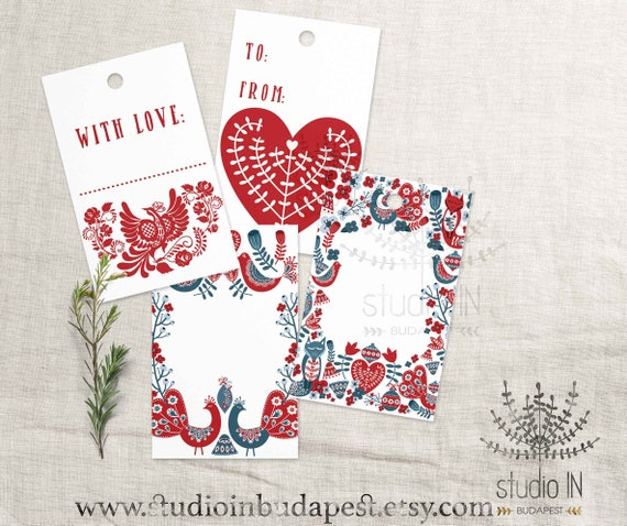 Christmas Gift Tags Diy.Christmas Gift Tag Diy Christmas Tags Nordic Gift Tag Motif Gift Tag Printable Christmas Label Diy Tag Gift Label