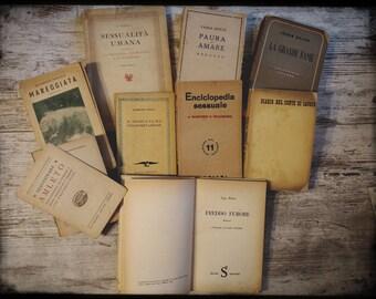 LOTTO DI LIBRI vecchi italiani (1940/1960)