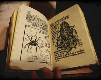 Necronomicon - H.P. Lovecraft - Cthulhu - fiber of leather - economy version