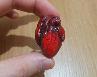 Human Heart Charm