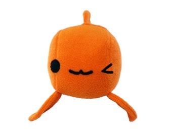 Plushie Stuffed Goldfish, Goldfish Toy, Goldfish Stuffed Toy, Koi Plushie, Gold Fish, Fishy Toy, Sea Life Plushie, Aquatic Decor, Plush Toy