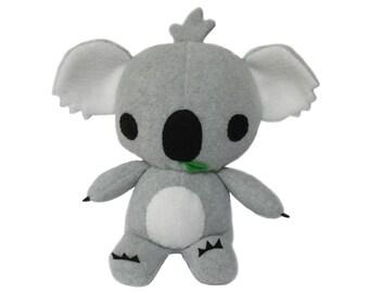 Koala Softie Sewing Pattern - Instant Download