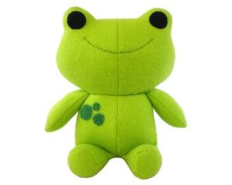 Frog Softie Sewing Pattern - PDF