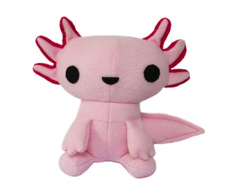 Axolotl Plush Toy Pattern - Instant Download