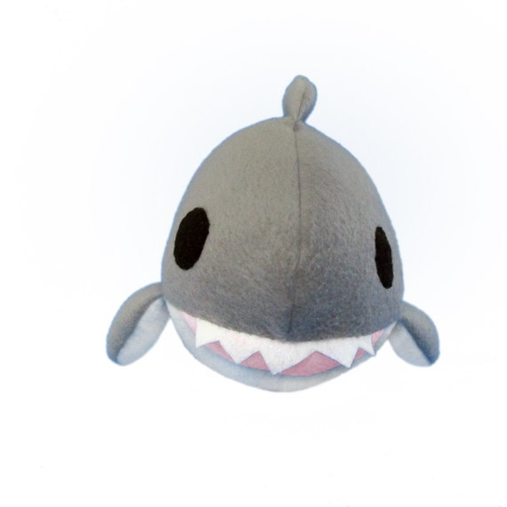 Shark Plush Toy Sewing Pattern Shark Pdf Shark Plush Diy Etsy