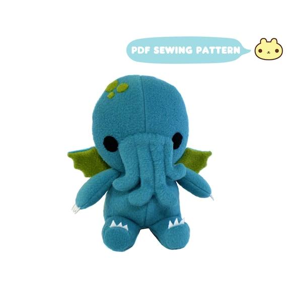 Cthulhu Sewing Pattern Cthulhu Plush Toy PDF Monster Sewing   Etsy