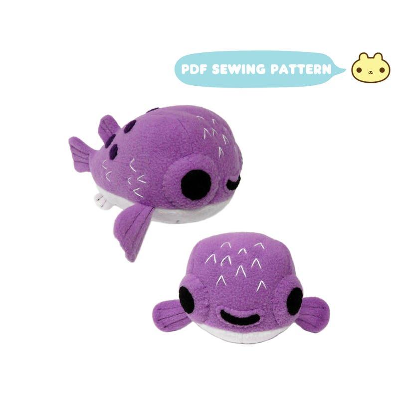 b3f117092cba4 Puffer Fish Pattern Plush Puffer Fish Pattern Puffer Fish