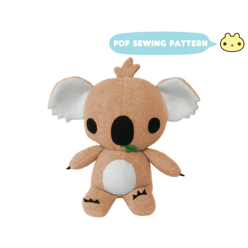 Koala Pattern Koala Bear Toy Pattern Stuffed Animal Pattern image 0