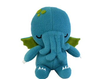 Cthulhu Monster Toy, Cthulhu Plush Toy, Stuffed Cthulhu, Cthulhu Plushie, Soft Plushie, Monster Toy, Plushie Cthulhu, Cute Cthulhu Toy