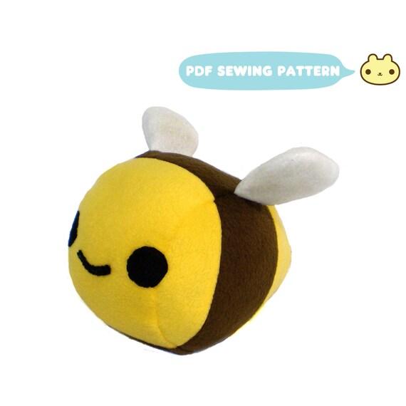 Bee Sewing Pattern Bee Plush Sewing Pattern Plush Bumble Etsy