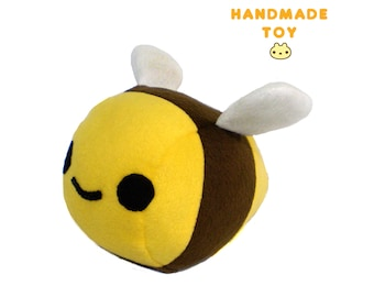 Bumble Bee Toy, Bee Plush Stuffed Animal, Plush Bumble Bee, Stuffed Animal Gift, Handmade Bee, Bumble Bee Plushie, Stuffed Bug Toy, Plushy