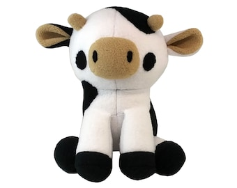Cow Plush Sewing Pattern - Instant Download