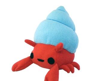 Crab Plush Toy , Hermit Crab Plush, Stuffed Animal Toy, Crab Plushie, Stuffed Crab Toy, Plushy Crab, Plush Crab Toy, Hermit Crab Soft Toy