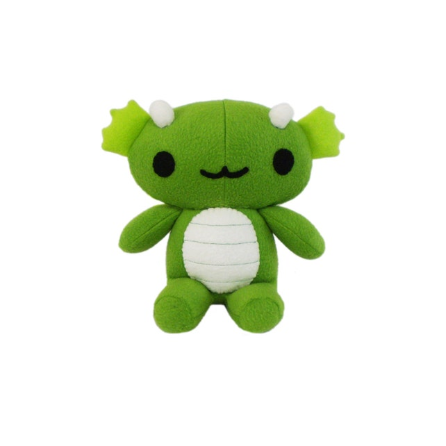 Chibi Plush Dragon Pattern Dragon Toy Sewing Pattern Goth Etsy