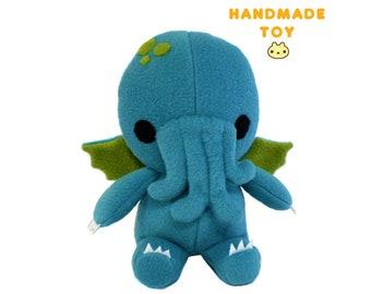 Cthulhu Plush Toy, Cthulhu Stuffed Toy, Monster Plushie, Cthulhu Doll, Stuffed Monster Toy, Plush Cthulhu Toy, Stuffed Cthulhu Toy Handmade