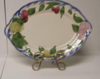 "Franciscan ""Orchard Glade"" Serving Platter;  Made in England"