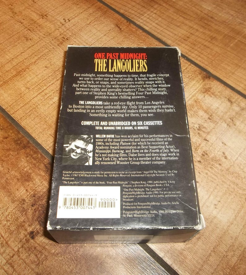 stephen king the langoliers audiobook