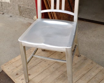 Emeco Navy Side Chair