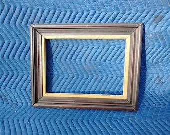 Gold Lined Wood Vintage Frame #11