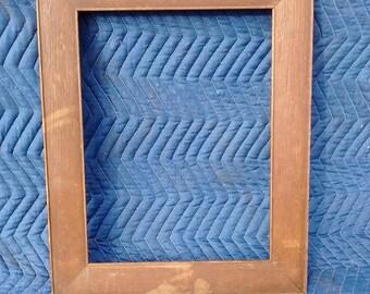 Warm Wood Vintage Frame