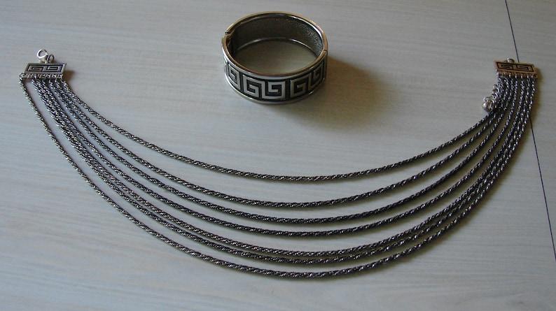 Sale! Egyptian Styled Necklace /& Bracelet Set Was 19.50