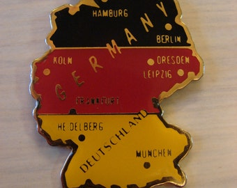 Map of Germany Deutschland Pendant