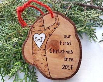 Couples First Christmas, Mr and Mrs Ornament, Wedding Ornament, First Christmas Ornament, Our First Christmas, First Christmas as Mr and Mrs