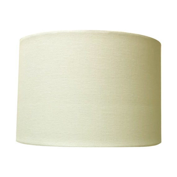 Tapered Deep Empire style Chandelier Shades,Off White Linen