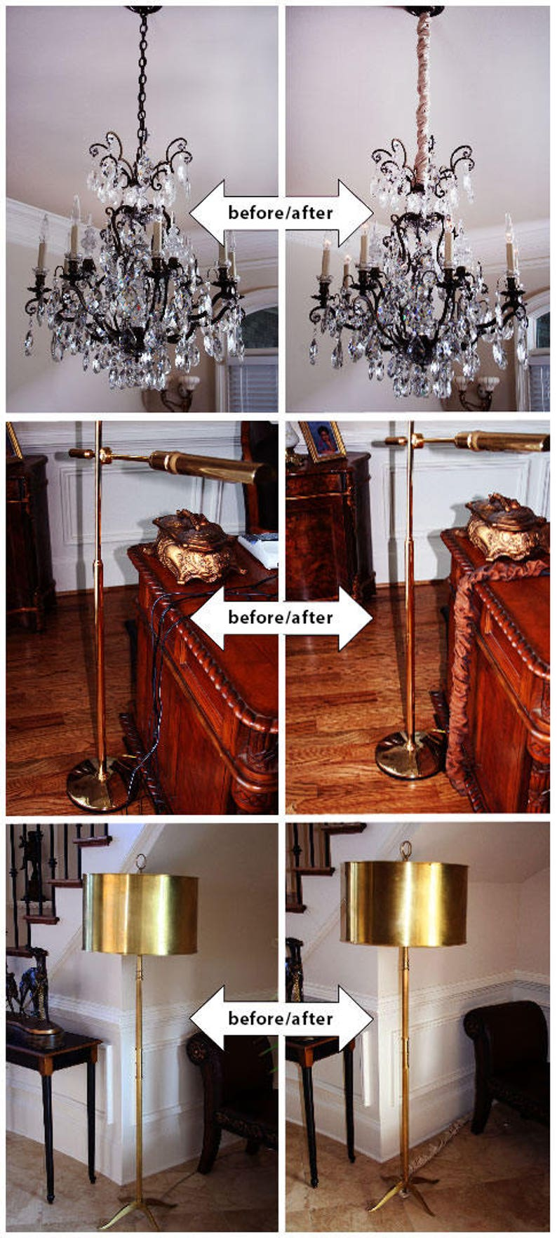 Silk-Type Fabric Touch Fastener Use for Chandelier Lighting Wires 4 feet Royal Designs CC-11-AGL Antique Gold Cord /& Chain Cover