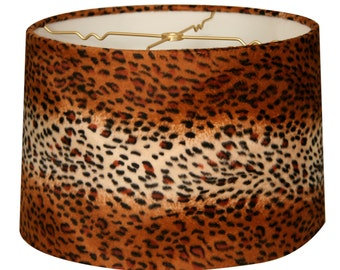 Leopard lamp shade etsy popular items for leopard lamp shade aloadofball Images
