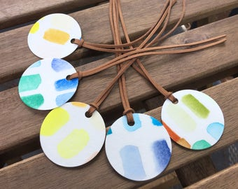Bookmark/ Bookmarks/ book mark/ Watercolor/ Watercolour/Gift tags/ Gifts for her/ Mothers day gift/ abstract watercolor/ hand painted