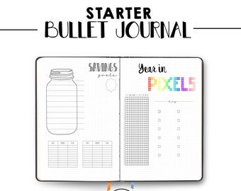 bullet journal ultimate collection bundle printable etsy