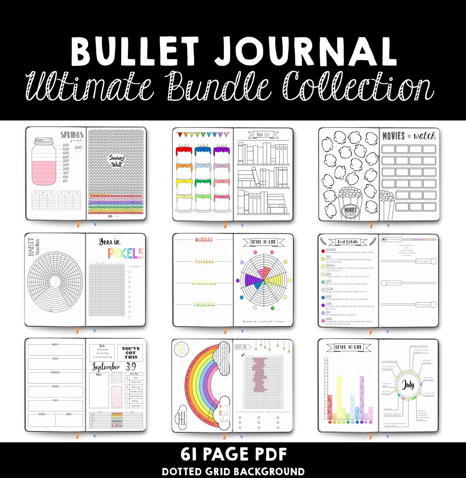 Bullet Journal - Ultimate Collection