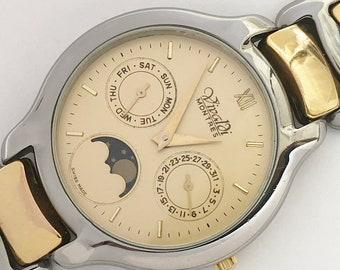 b91179cbcf9 Swiss made Vivaldi Montres moonphase men s quartz watch very rare