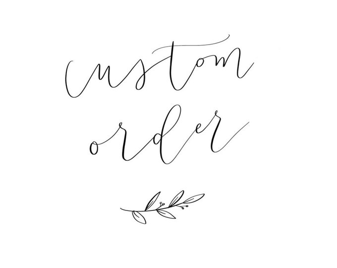 Custom Sign for Mandy