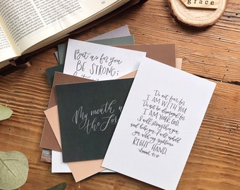 Labor and Delivery Scripture Cards Set of 14 | Scripture Cards | New Mom | Birth | C Section | Encouragement