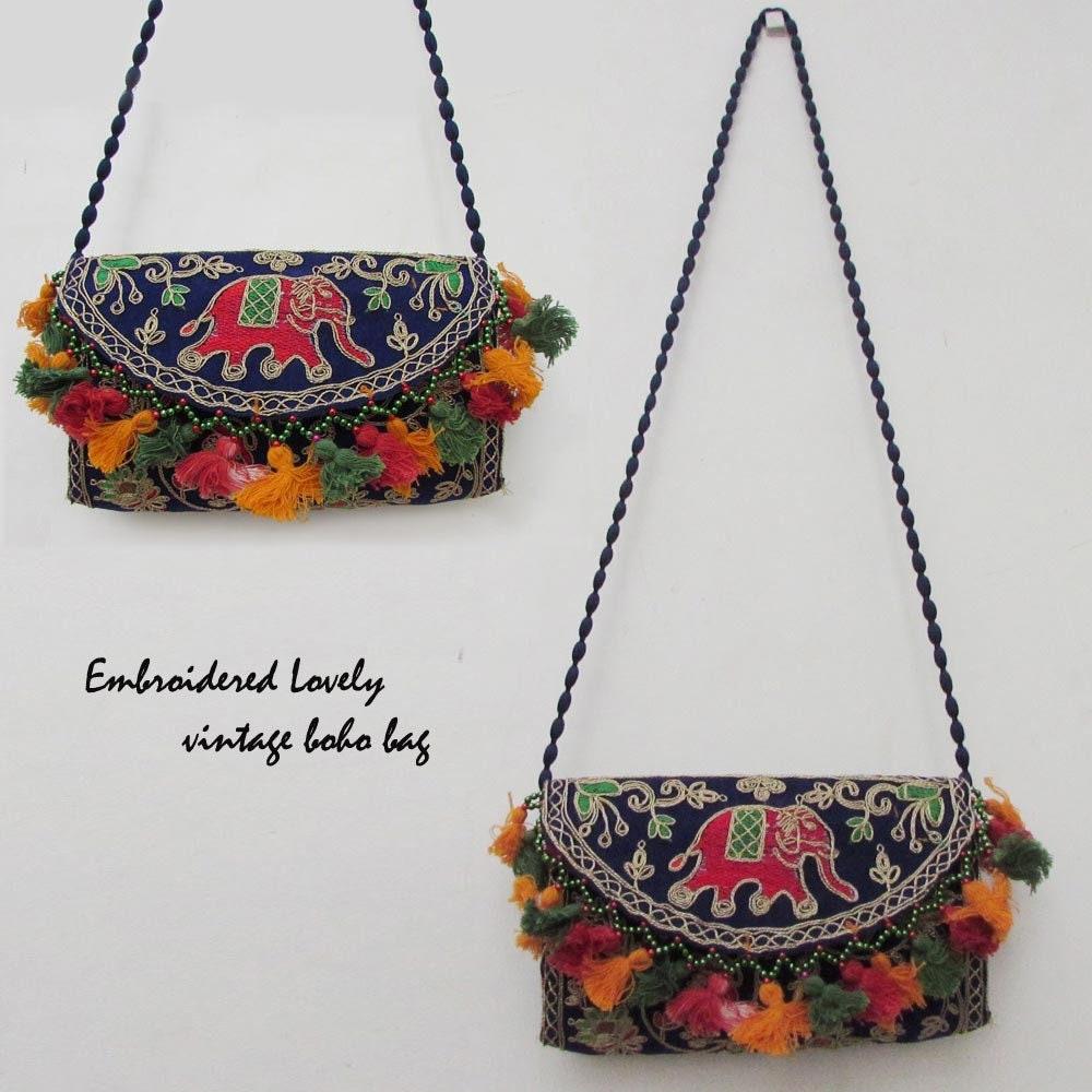 handmade vintage bag Authentic Banjara Dowry bag 59 cms x 40 cms Christmas Gift Indian gypsy bag Banjara embroidery Size