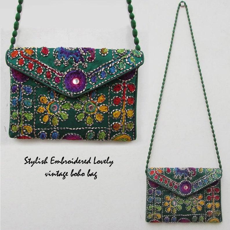 7e31df89ce Ethnic Clutch Tribal Bag Indian Bag Boho Clutch Gypsy   Etsy