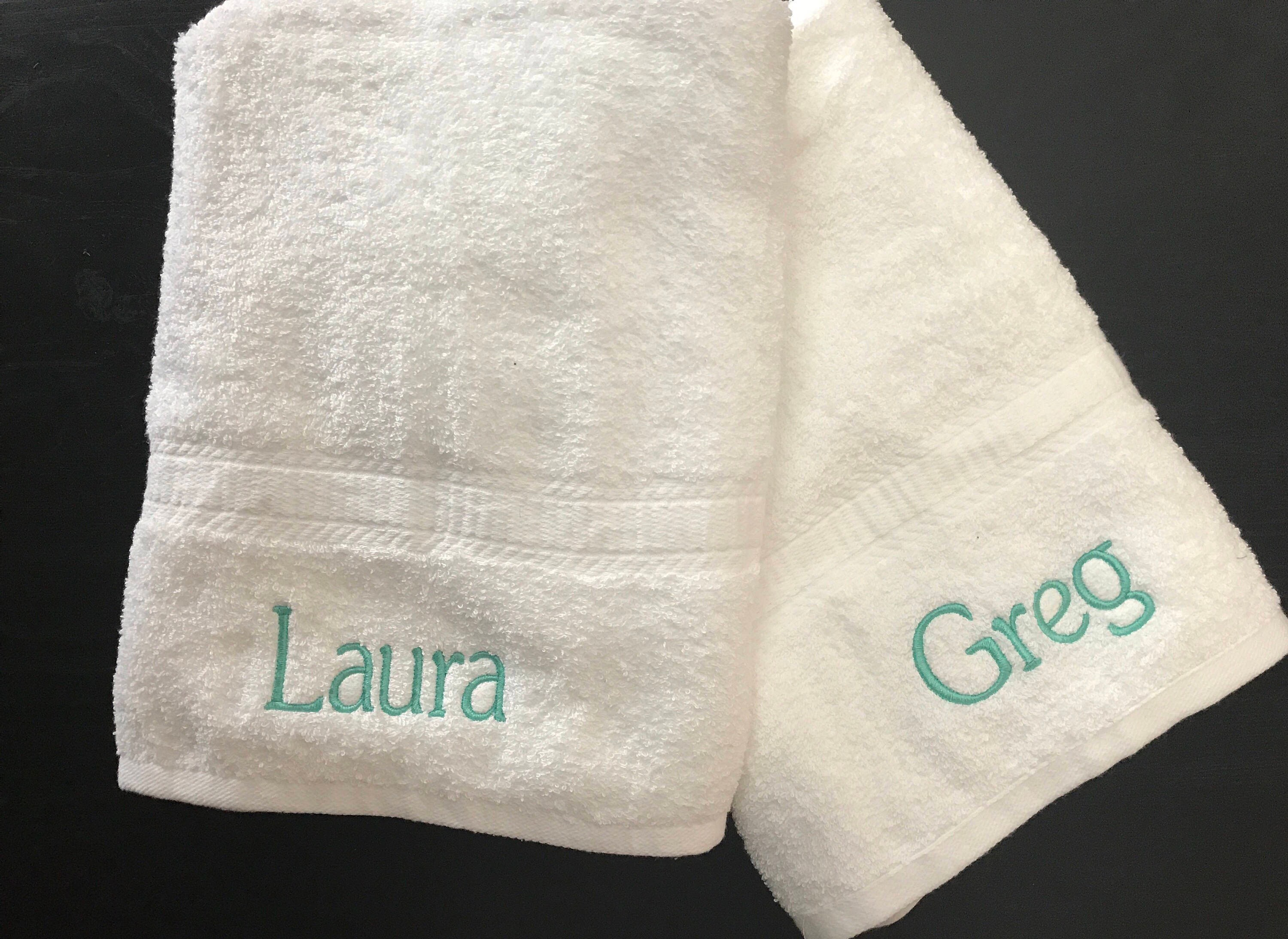 Green Lantern Logo Personalized 3 Piece Bath Towel Set Your Color Choice
