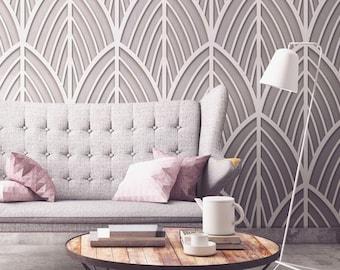 Art Deco Furniture, Art Deco, Wall Decor, Wall Art, Geometric Wall Art, Minimalist, Fretwork, Wall Panels, Home Decor, Office - SKU:FMID3DP
