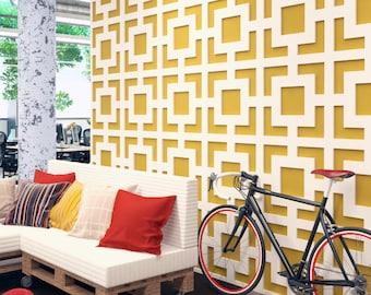 Mid Century Modern - Wall Paneling - Panele 3D - 3D Wall Panels - Wall Panels - Paneling - Decorative Wall Panels - 3D Tiles - SKU:MIDS3DP