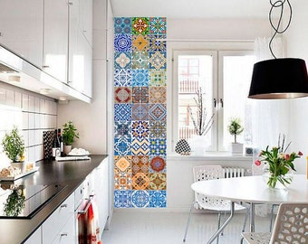 Tile Decals Wallpapers And Wall Decals By Homeartstickers