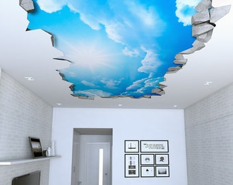 Ceiling Decals Etsy