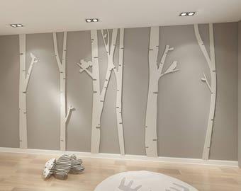 Birch Tree Art Etsy