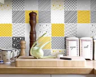 Home Decor Carrelage Adhésif Vinyl Floor Vinyl Flooring Etsy - Carrelage e tiles