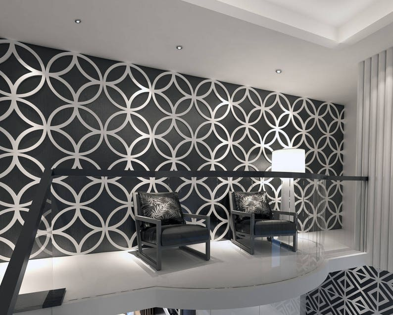 Stars 3d Wall Panels Wall Panels Geometric Art Wall Etsy