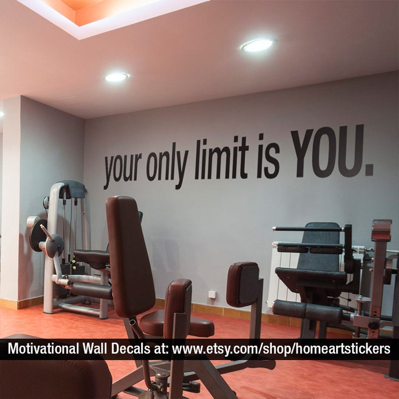 The Only Limit is You by HomeArtStickers