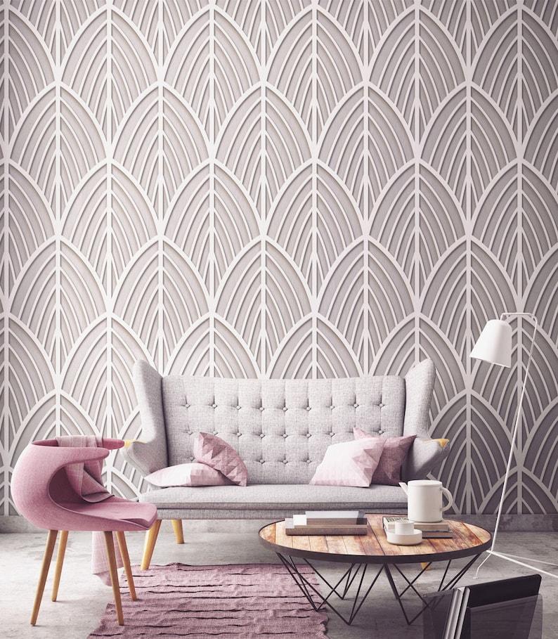 Art Deco Furniture Art Deco Wall Decor Wall Art Geometric Etsy