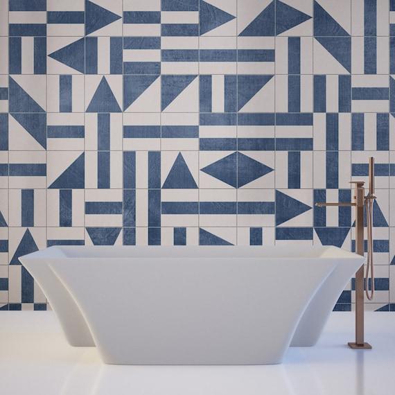 Floor Tile Decals Flooring Vinyl Floor Carrelage Adhésif Etsy - J rod carrelage